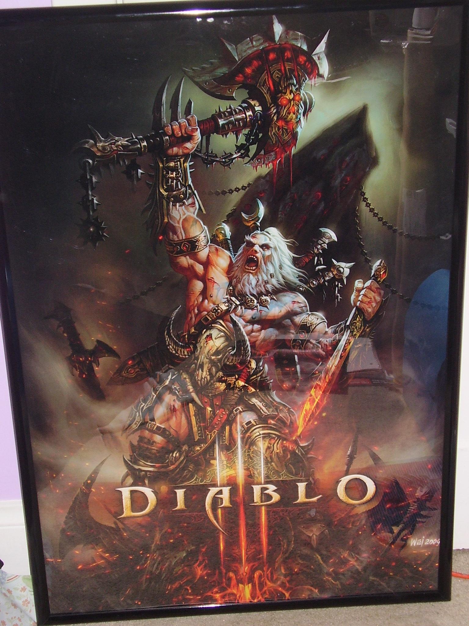 Diablo III - heroes Poster | Sold at Abposters.com  |Diablo Iii Poster
