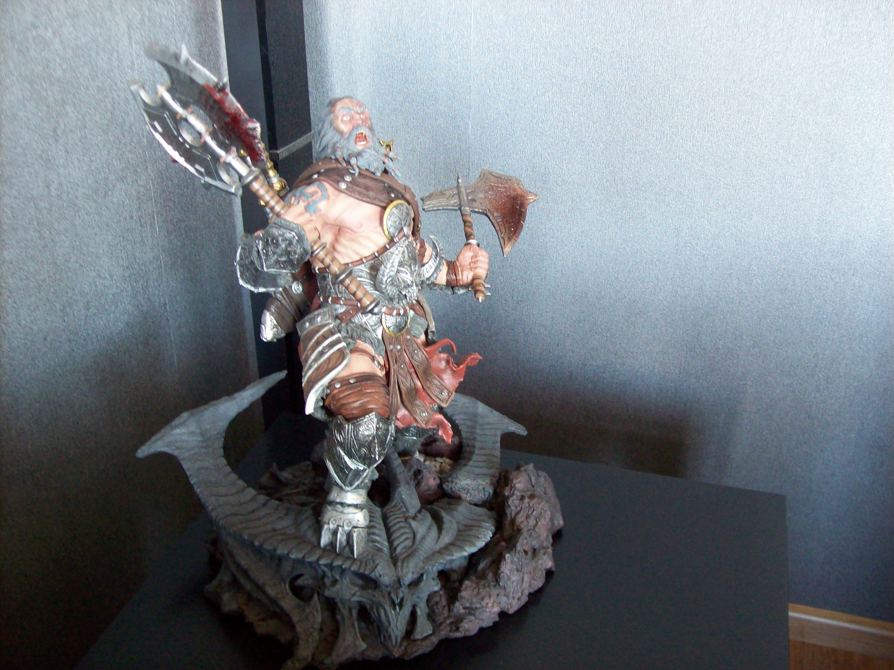 Diablo 3 Sculpture verified: #41: diablo 3 sideshow overthrown statue. | my diablo